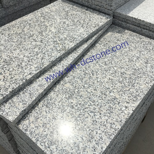 Light grey g602 granite from China factory